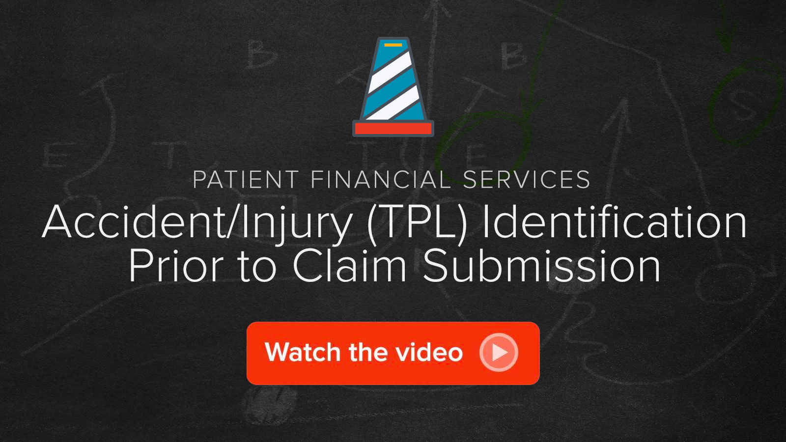 Watch the Accident/Injury (TPL) Identification Prior to Claim Submission video