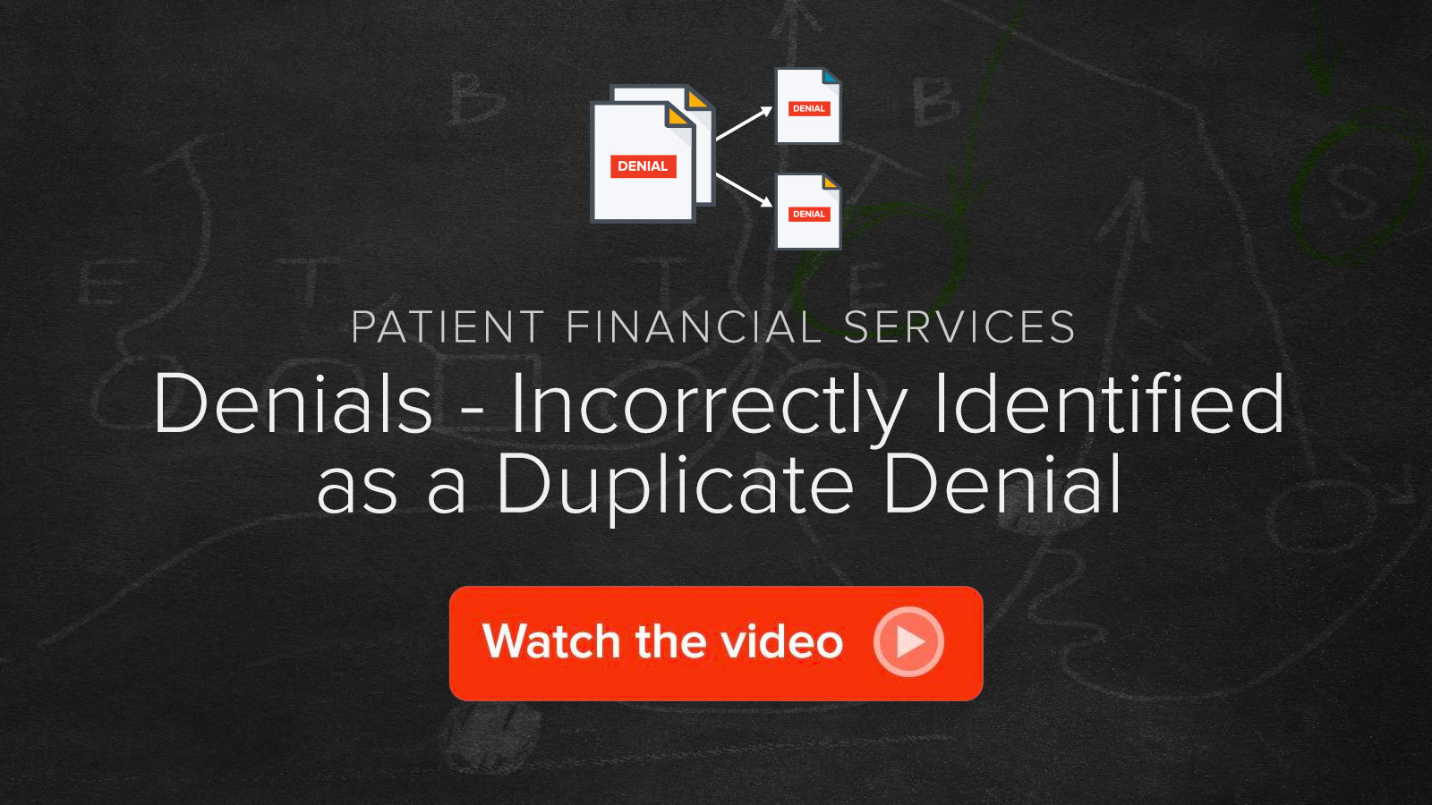 Watch the Denials - Incorrectly Identified as a Duplicate Denial video