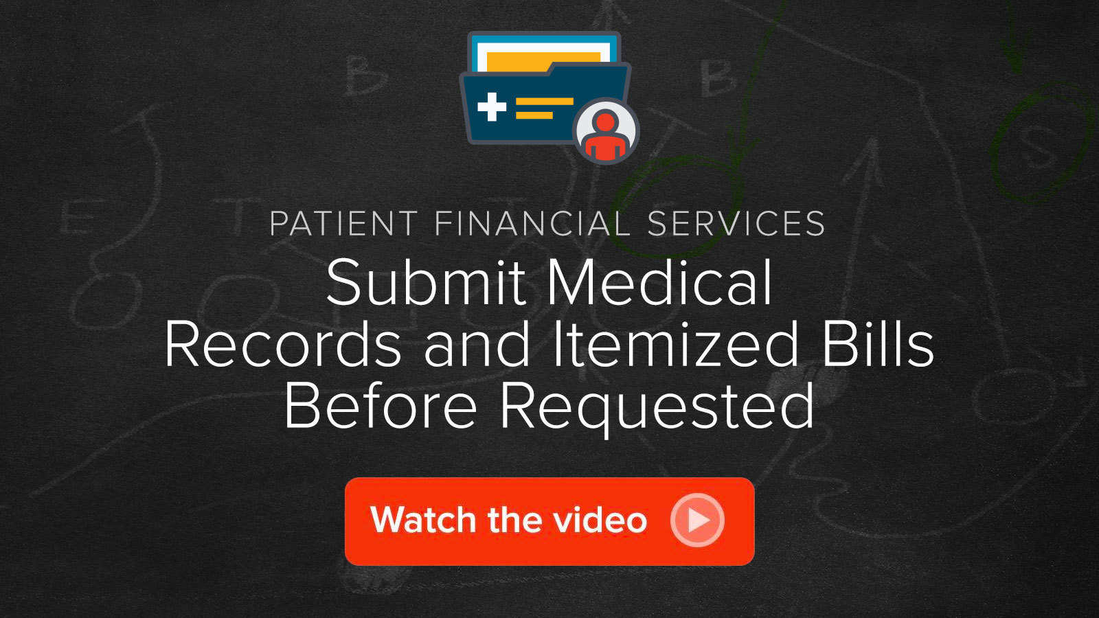 Watch the Submit Medical Records and Itemized Bills Before Requested video